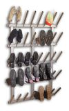 Boot dryer for 20 pair of boots, stainless steel, with boots